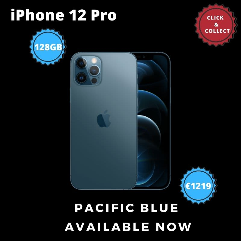 Apple iPhone 12Pro Pacific Blue